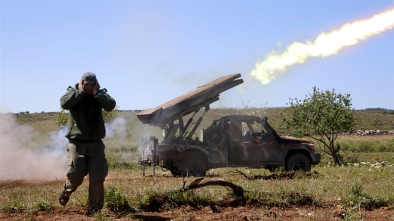 21 dead from attack on Syrian rebel base