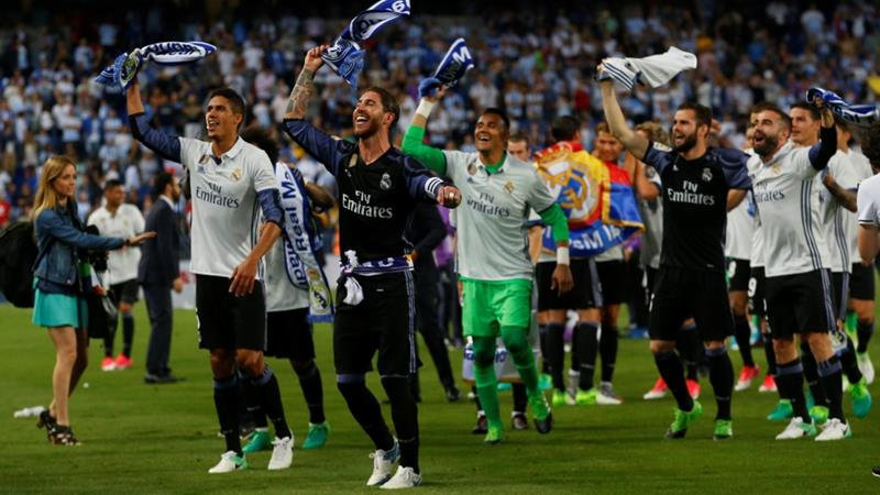 Ronaldo helps Real Madrid bag La Liga crown