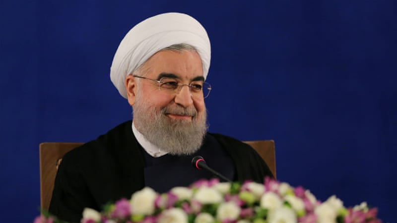 Rouhani says hopeful Europe won't follow Trump's lead on Iran (UG, RNO)