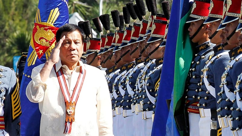 Duterte declared military rule across Mindanao in May [Harley Palangchao/Reuters]