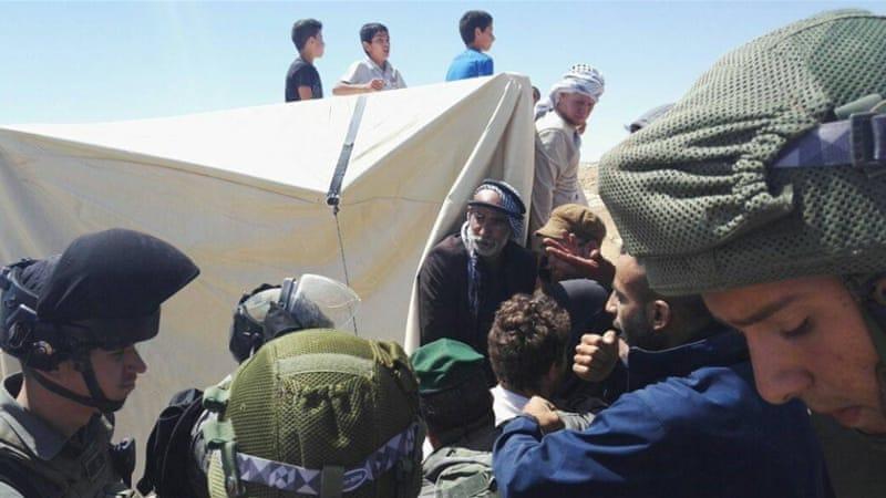 Israeli Forces Raid Sarura Protest Camp In Hebron Hills
