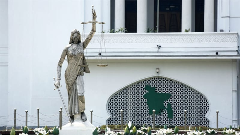 Bangladesh removes Lady Justice statue from court complex