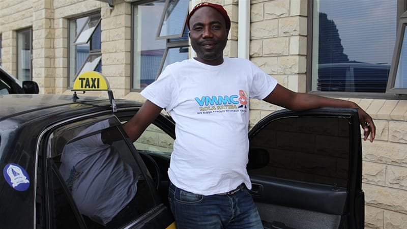 Lesotho taxi drivers help lead fight against HIV