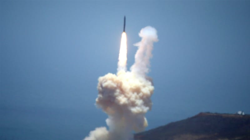 Video shows successful missile-intercept test over Pacific