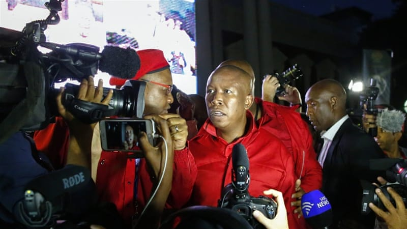 Will Julius Malema succeed Jacob Zuma in South Africa?