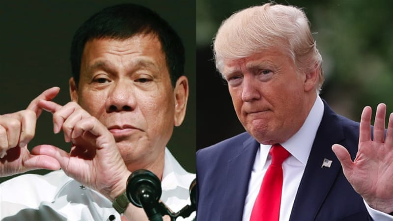 To be fair, Trump's invitation to the Filipino leader makes perfect geopolitical sense, writes Heydarian [AP]