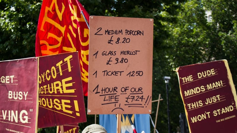 The fight for a living wage in the UK