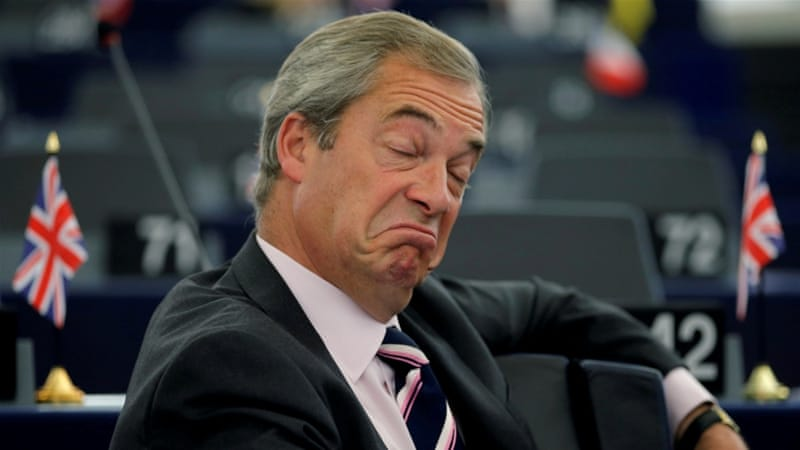 UK's Farage