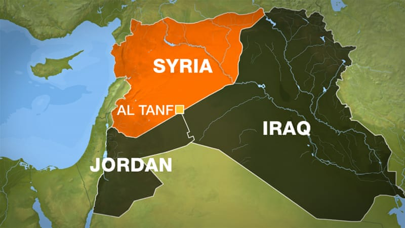 syrian soldiers push through isil reach iraqi border