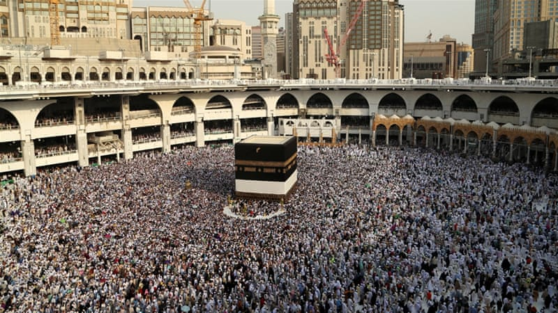 Muslims from around the world gather in Mecca to perform the annual Hajj [Reuters]