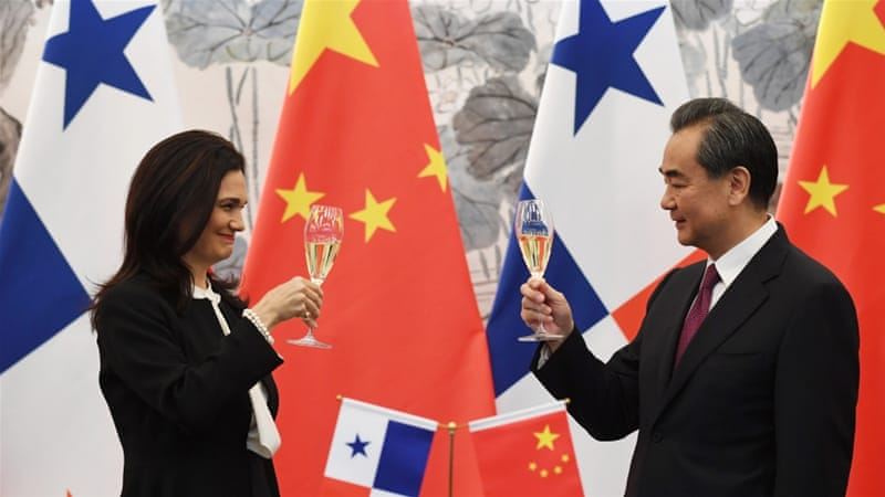 Panama cuts off ties with Taiwan, switches to China