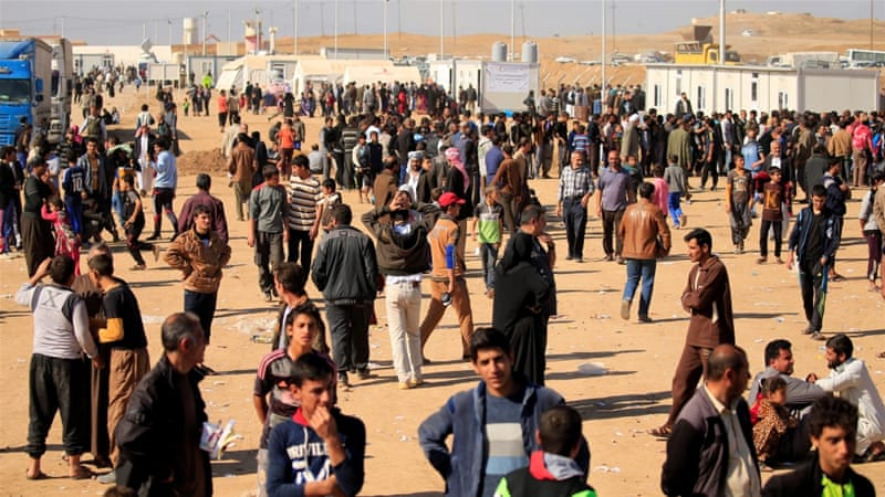 Child dies following mass food poisoning outbreak in Mosul refugee camp