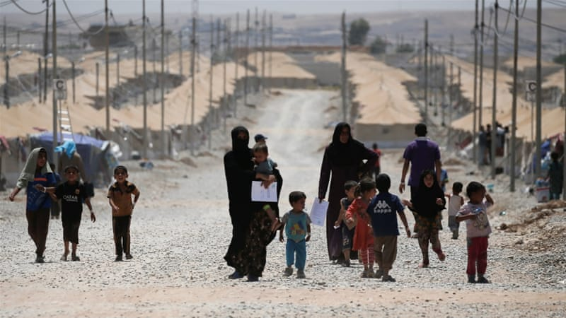 The affected communities are mainly IDPs from west Mosul of which a third of all the cases are children and two-thirds are women [File: Reuters]