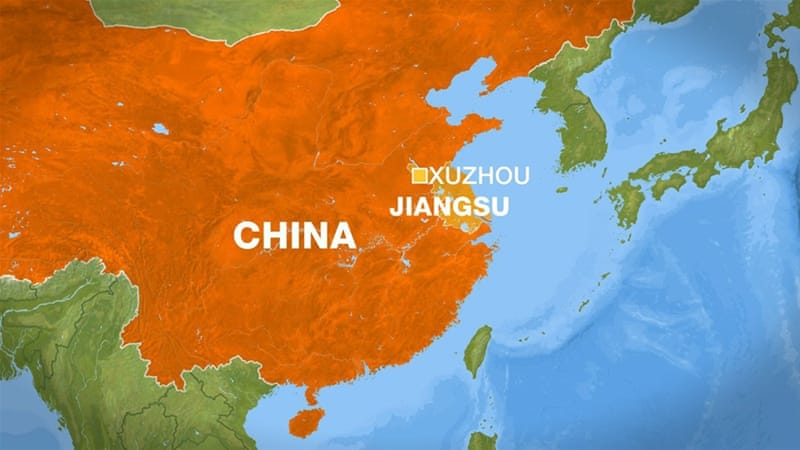 China kindergarten blast: Bomber among 8 dead
