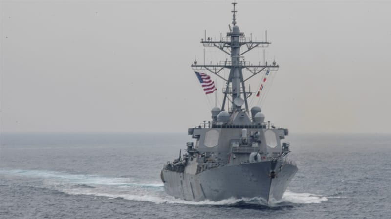 US, Japan search for 7 Navy sailors after ship collision