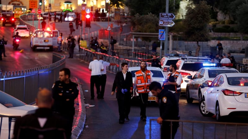 Israel Says Officer Stabbed, 3 Attackers Shot in Jerusalem