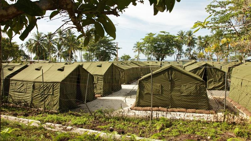 Facilities at the Manus Island processing facility, Papua New Guinea. [Getty Images]