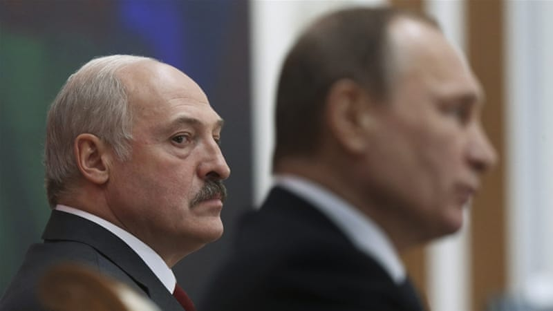 Russia and Belarus: Behind the media battle