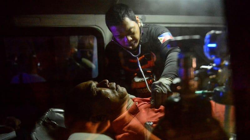 Dozens dead in Manila