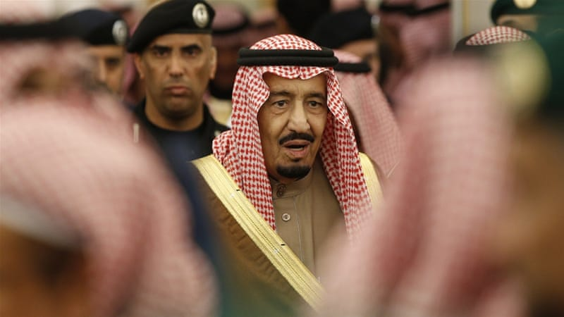 King Salman issued a series of royal decrees, the foremost being the appointment of his son as the Kingdom's crown prince and deputy prime minister [EPA]