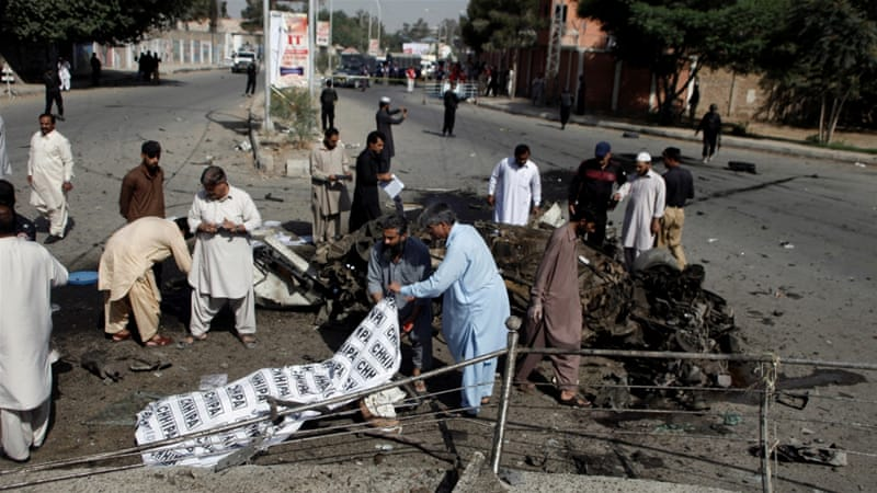 Police office attacked in deadly Quetta suicide blast | Pakistan