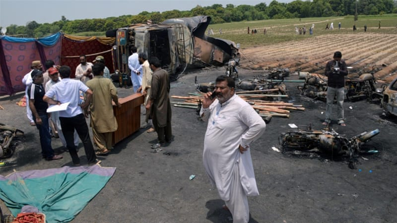Tanker fire kills at least 146
