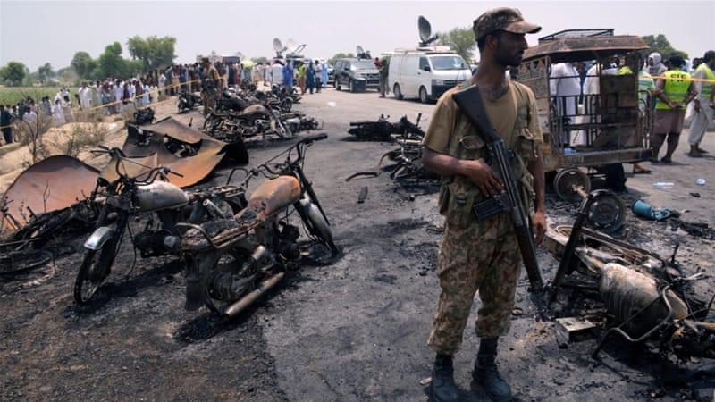 Scores killed in tanker fire near Bahawalpur