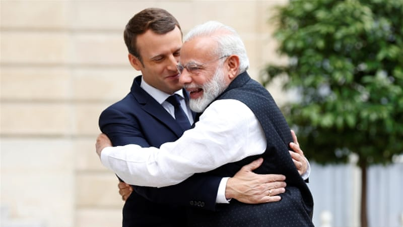 PM Modi to hold talks with new French President