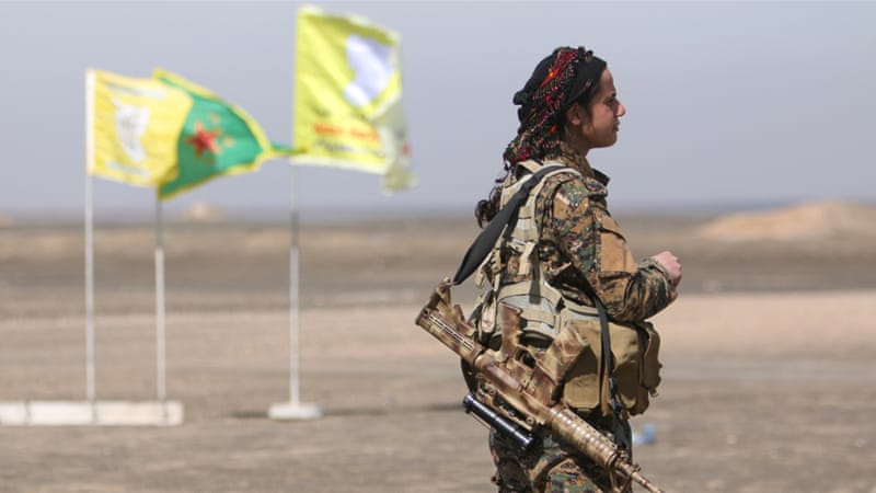 The Syrian Democratic Forces (SDF) controls between 25-30 percent of Syria, and backs a federal country [File: Rodi Said/Reuters]