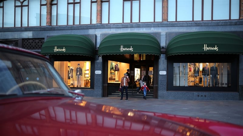 Mystery woman who spent £16m in Harrods