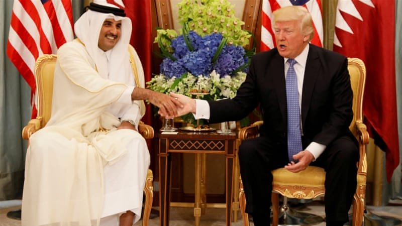 Siding against ally Qatar, President Trump injects U.S. into Arab crisis