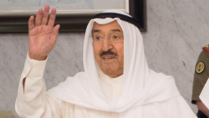 Kuwait's Emir arrives in Qatar over GCC diplomatic rift