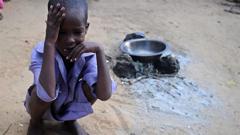 WHO blames the drought for the outbreak of cholera and acute diarrhoea [AFP]