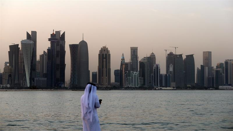 The blockade on Qatar was imposed on June 5, 2017 [AFP]