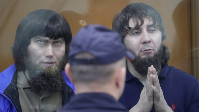 Russian court sentences man convicted of killing Putin critic Nemtsov