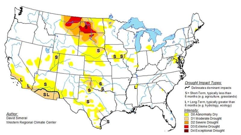 Flash drought hits the US Northern Plains and Canada | News | Al Jazeera