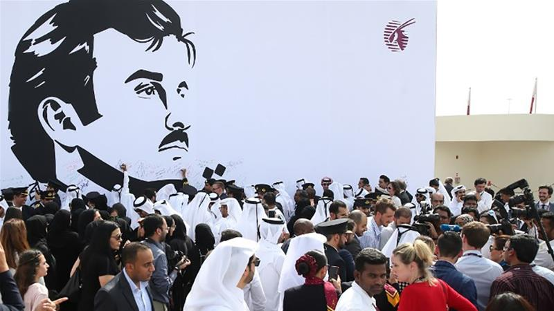 France urges Qatar's neighbors to ease blockade