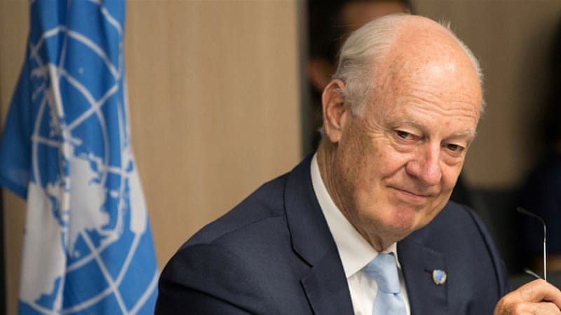 De Mistura: Direct Syrian Talks in Upcoming Rounds