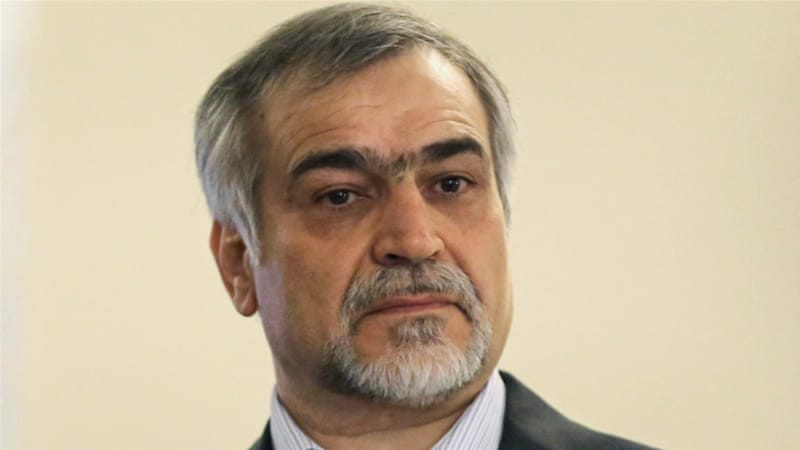 Hossein Fereydoun was handed an unspecified prison term for corruption [File: Atta Kenare/ AFP]