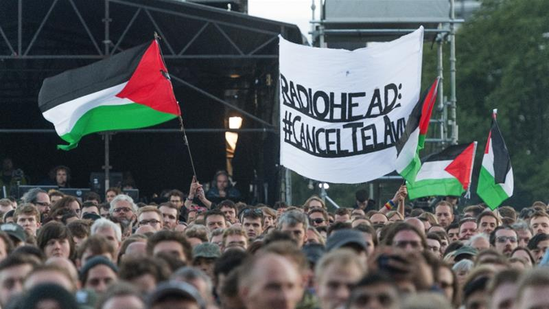 By playing a Tel Aviv stadium built on the ruins of three Palestinian villages Radiohead merely diminish themselves writes Aked