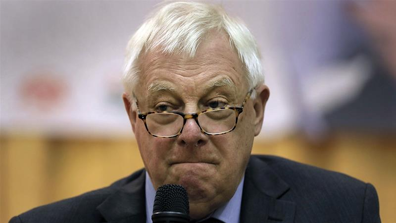 Chris Patten: Hong Kong's freedoms under threat