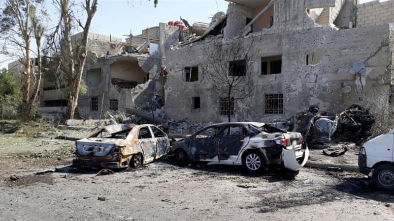 8 killed, 12 wounded in auto bomb explosion in Syria