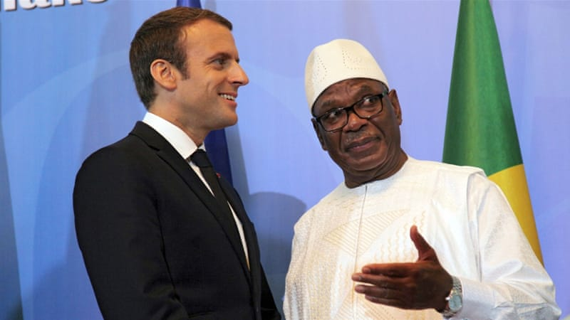 West African and French leaders launch Sahel force