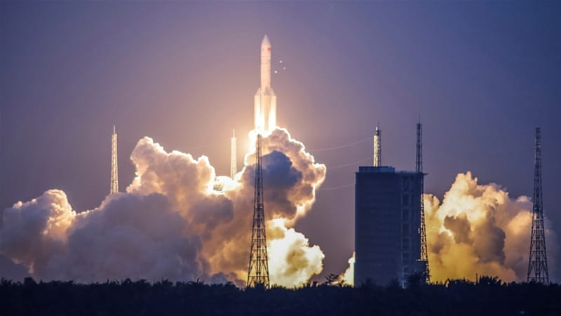 China prepares to launch second heavy-lift carrier rocket