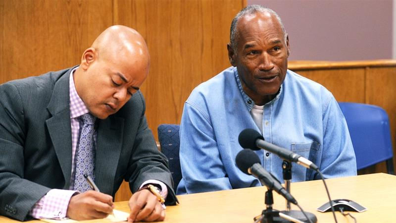 OJ Simpson granted parole after nearly 9 years in jail