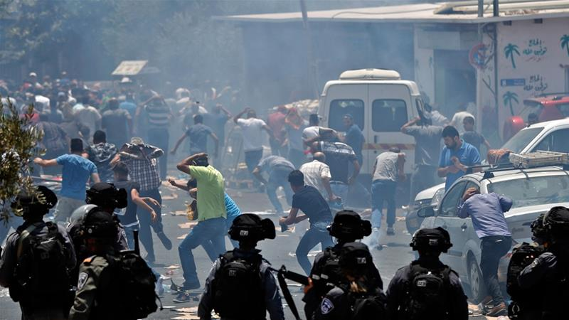 Palestinians, Israeli police clash after Friday prayers