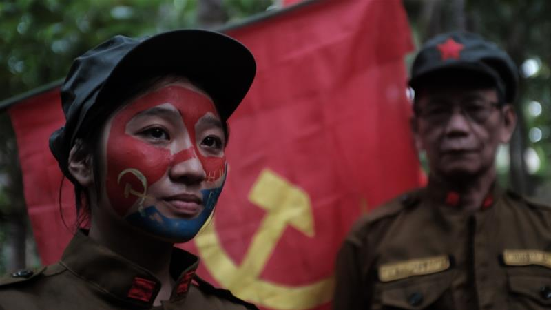 In February, Duterte offered a $384 bounty for each communist rebel killed [File: Getty Images]