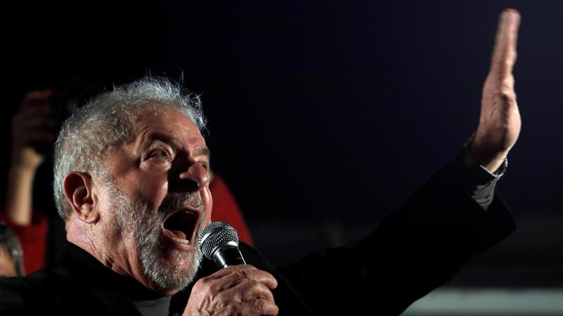Former Brazilian President Lula loses appeals, could be jailed