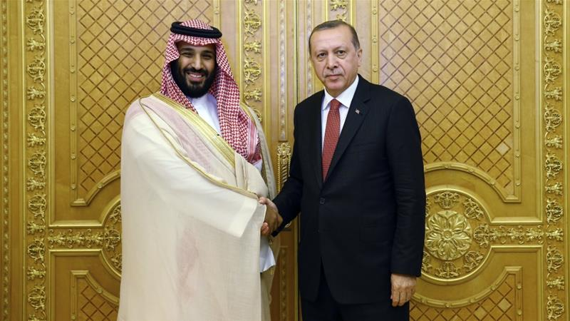 Erdogan visits Saudi Arabia over Gulf crisis