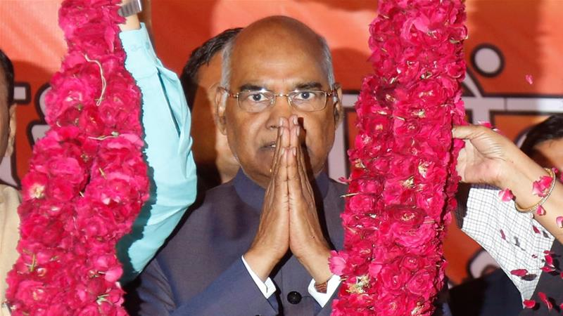 Indian President Ram Nath Kovind has been in office since 2017 [File: Ajit Solanki/AP]